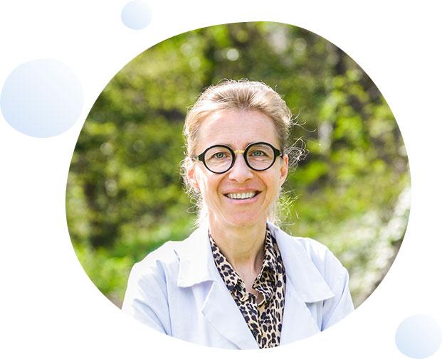Dr Anne-Marie MARION-AUDIBERT service gastro-entérologues Clinique du Val d'Ouest