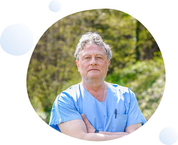 Dr Jean Louis GAUDIN service gastro-entérologues Clinique du Val d'Ouest