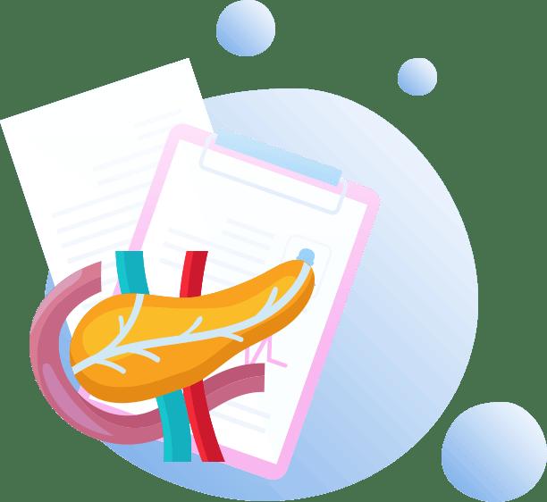 Illustration pathologie pancreas