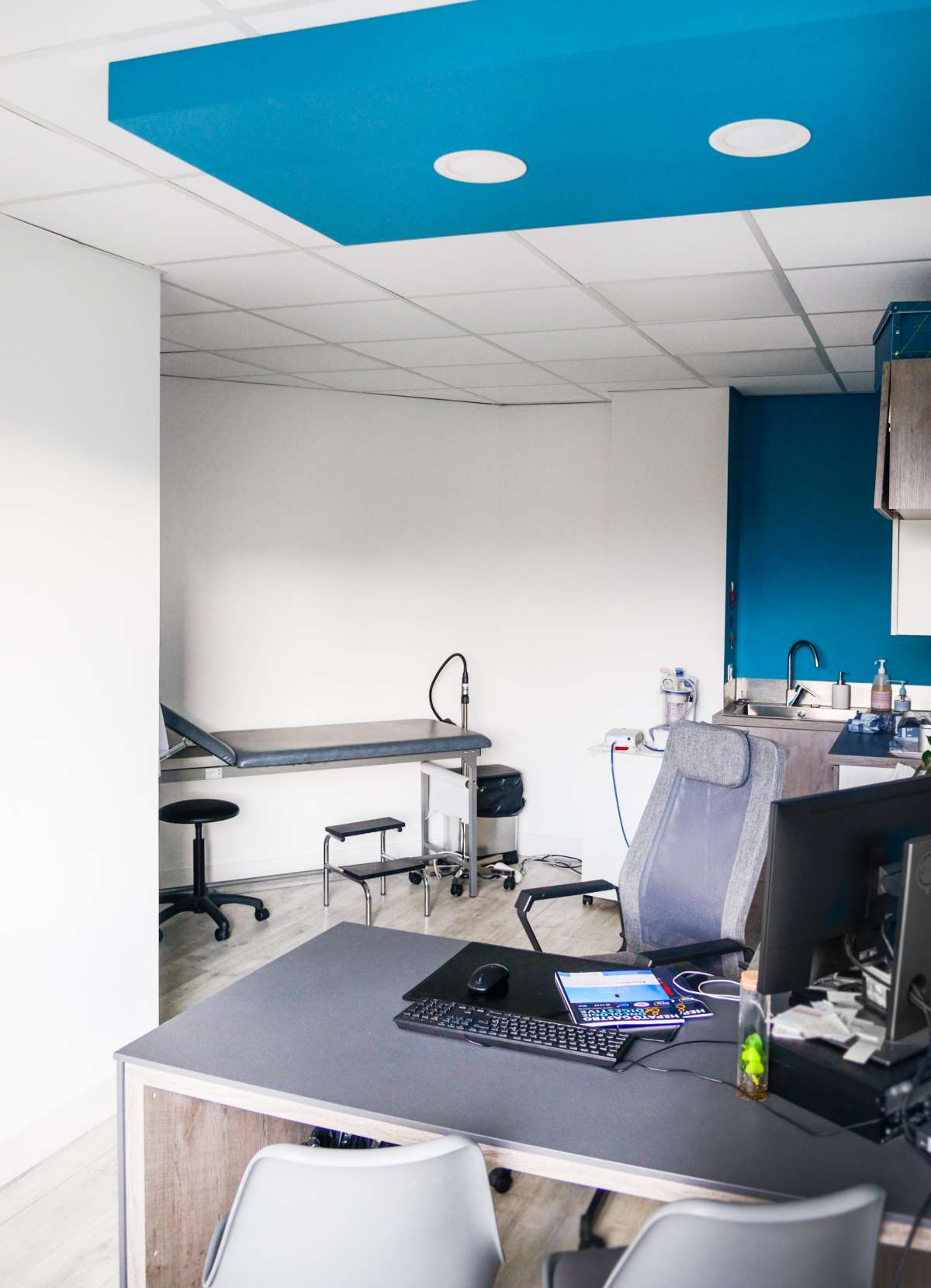 service gastro-enterologie Clinique du Val d'Ouest photo nouveaux locaux